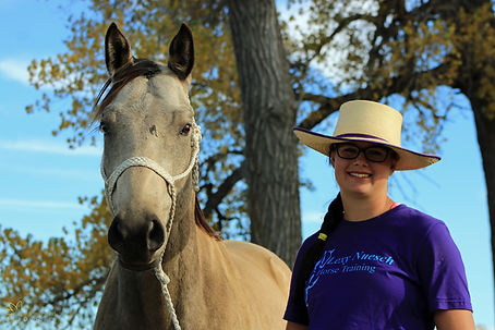 Festus, BW Burn Notice, Lexy Nuesch Horse Trainig, horse, buckskin, gelding, Nebraska