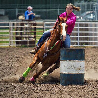Kaeli Sedlak Barrel Training, barrel racing, clinic