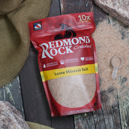 Redmond Rock Crushed - Equine Minerals