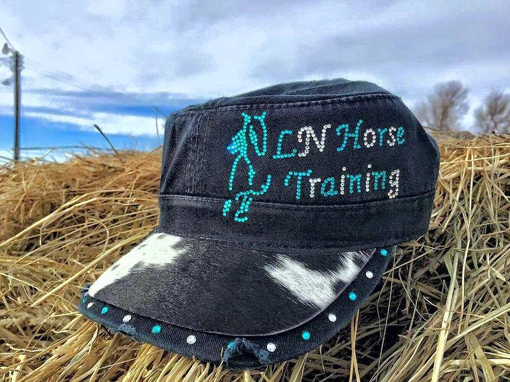 LN Horse Training Military Cap