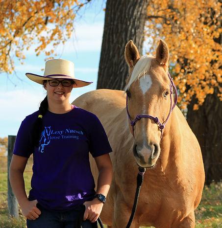 Spurs, Gold Tone Dandy, Lexy Nuesch Horse Training, Nebraska, palomino, gelding
