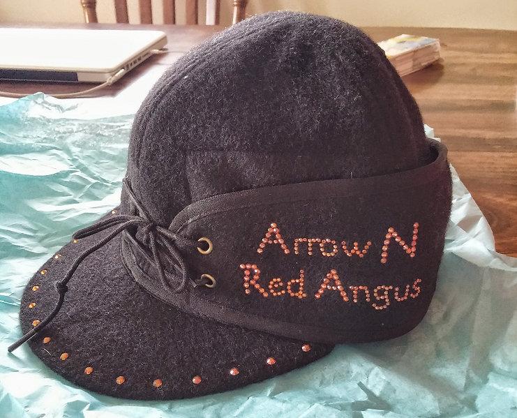 Arrown N Red Angus Crown Cap
