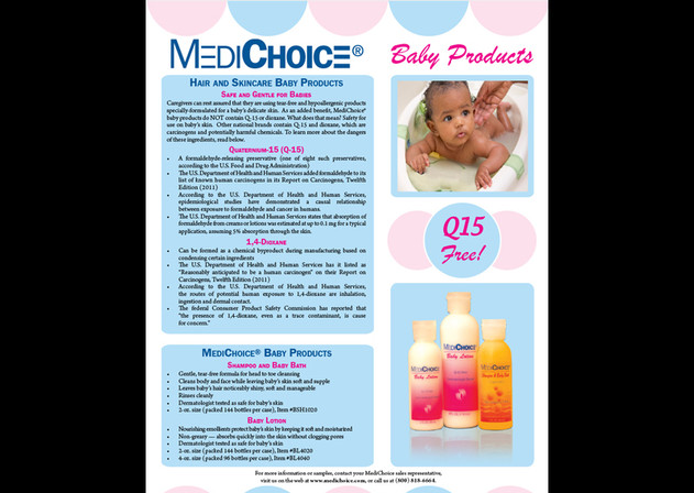 Product Info Sheet