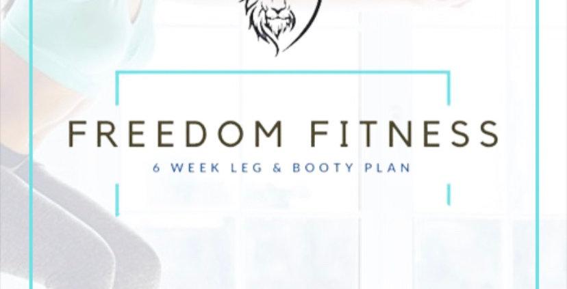 6-WEEK LEG &BOOTY PLAN