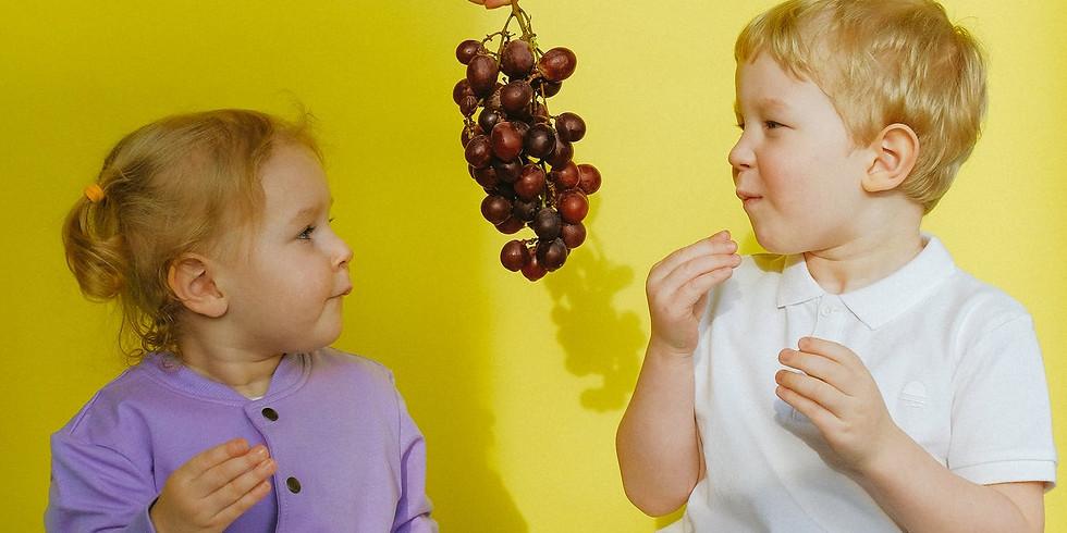 kostenlos: Richtig essen von Anfang an Workshops: Gemüsetiger – Ernährung für 1-3 Jährige