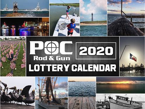 POC Lottery Calendar 2020