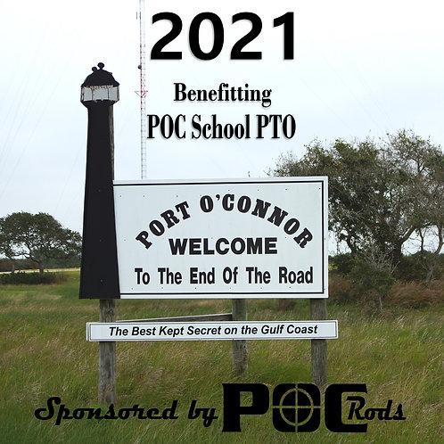 2021 Port O'Connor Rods PTO Benefit Calendar