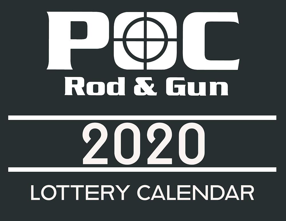 Port O'Connor Rod & Gun Lottery Calendar