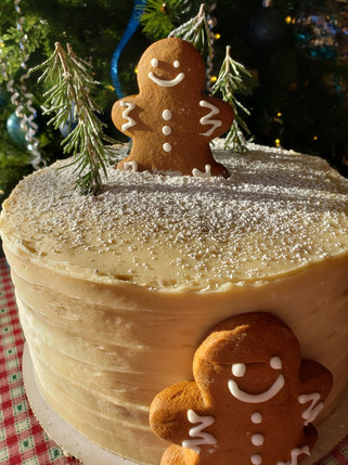 Classic Holiday Ginger Cake