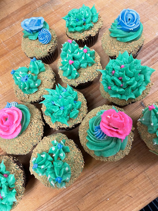 Dessert Themed Cupcake