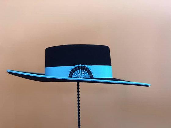 Black & Turquoise Buckarette