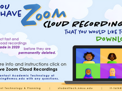 Save Your 2020 and Spring 2021 Zoom Recordings