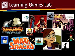 Research in Innovative Media Research and Extension Department and the Learning Games Lab