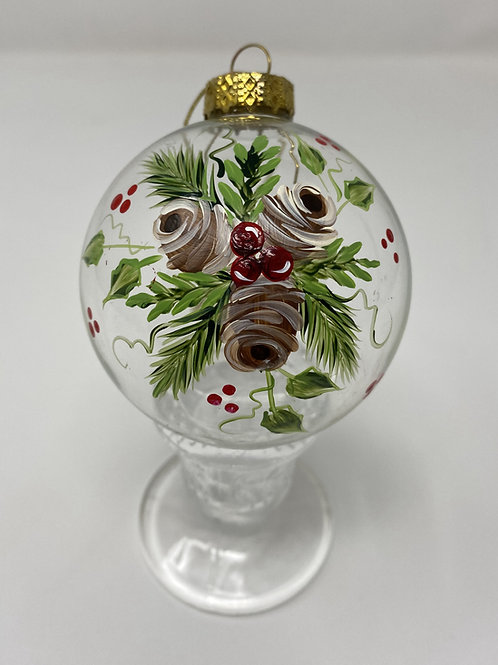Holly, Pinecones & Berries Ornament E-Packet