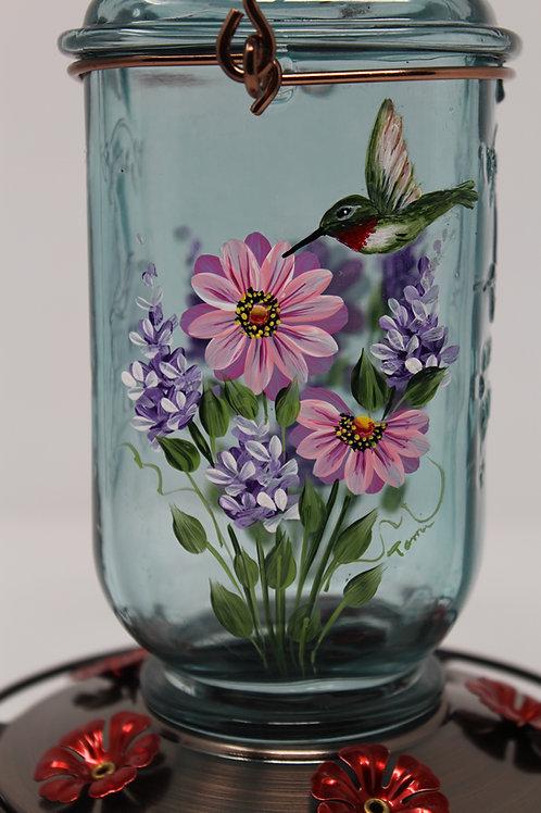 Hummingbird, Lilacs & Daisies Feeder E-Packet