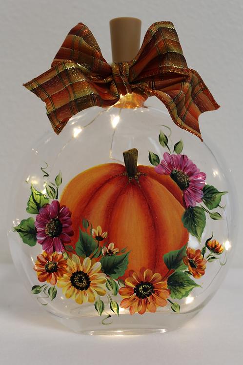 Pumpkin & Floral Jar E-Packet