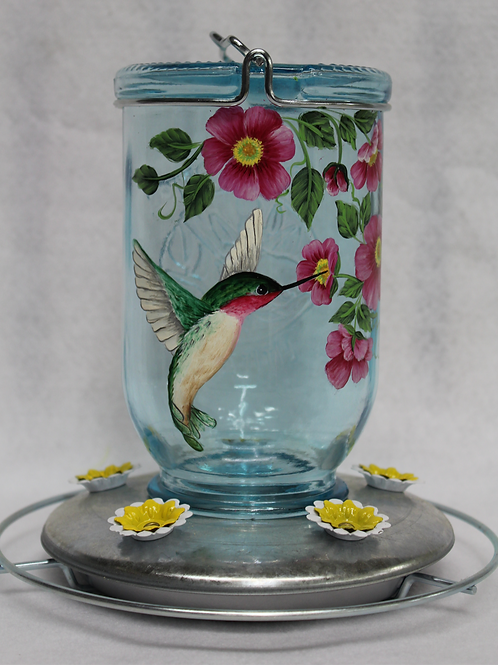 Hummingbird & Flower Feeder E-Packet