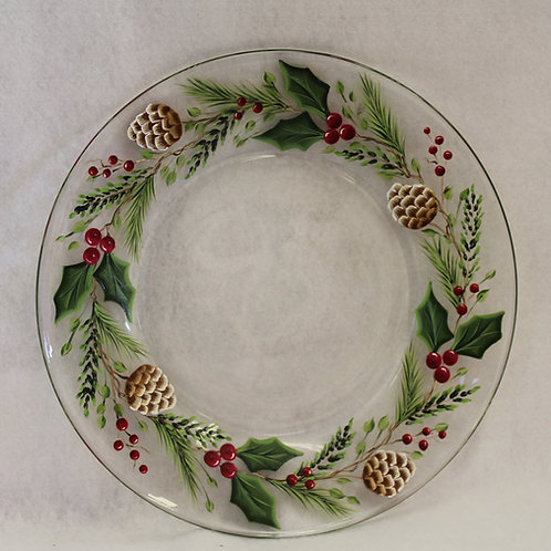 Holly And Berry Plate E-Packet