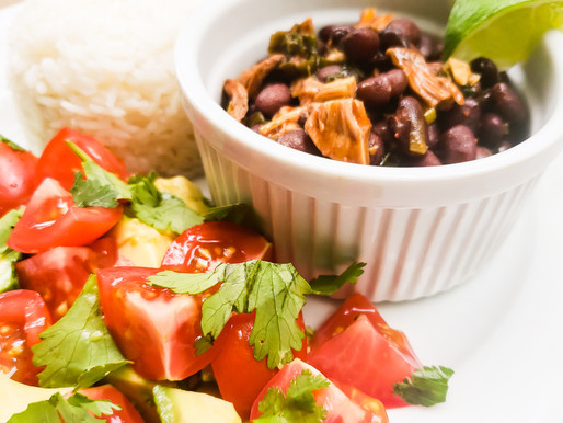 BLACK BEANS with HICKORY SMOKED SNACK JACK