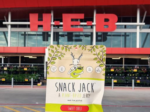 Snack Jack jerky now at H-E-B