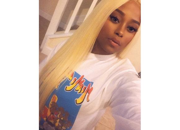 Blonde Straight Wig