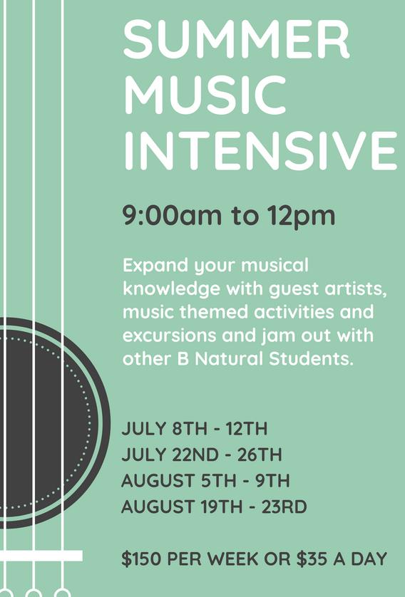 Pastel Green Guitar Music Workshop Poste