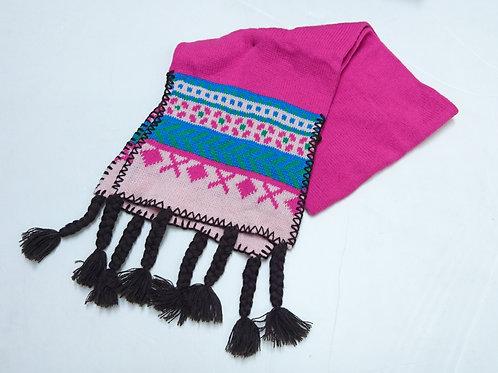 女童冷圍巾
