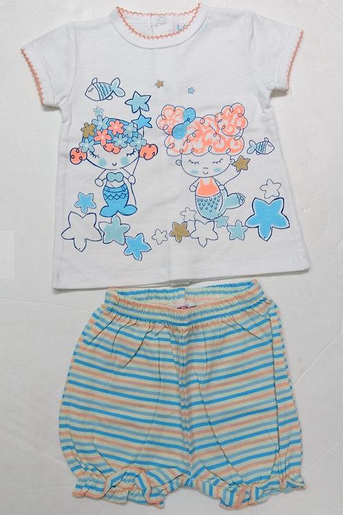 BB短袖兩件頭套裝 Baby short-sleeved 2pcs set