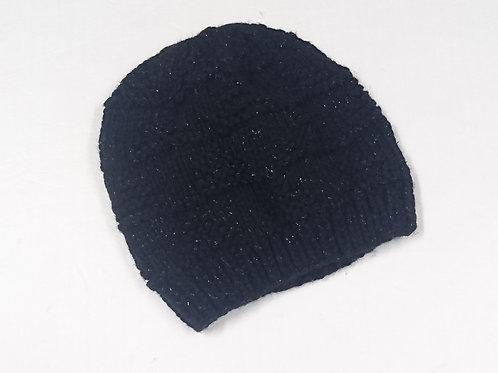 女裝 閃黑色帽 Ladies Shiny Hat