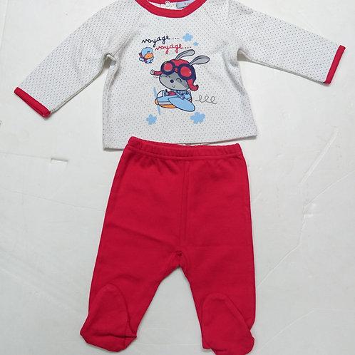 BB 長袖兩件頭套裝 Baby long-sleeved 2pcs set