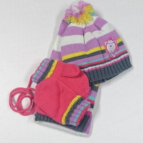BB帽+手套+頸巾 Baby Hat+Mittens+Scarf