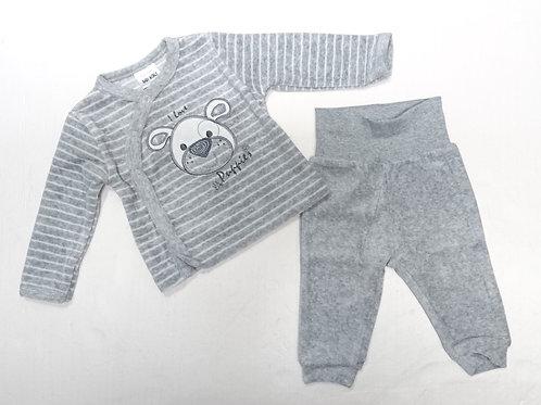 BB 天鵝絨兩件頭套裝 Baby velvet 2pcs set