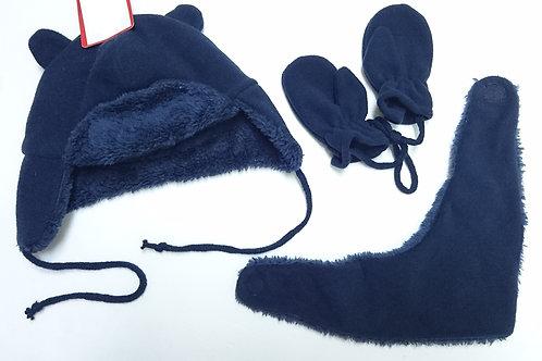 BB帽+圍巾+手套