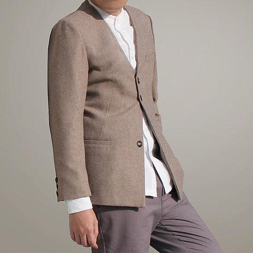 Minimal Collarless Blazer 男裝西裝外套