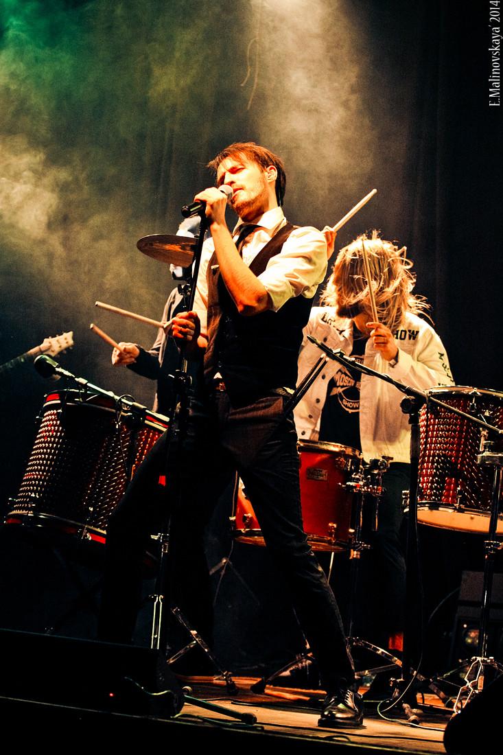 барабанное шоу Moscow HooK