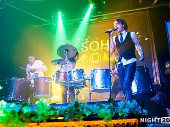 Moscow HooK / мисс россия 2015 / Soho Rooms (18.04.2015) барабанное шоу, шоу барабанщиков