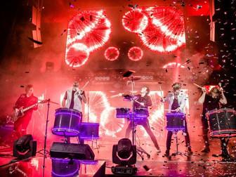 Барабанное шоу, кавер группа Moscow HooK
