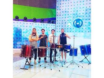 группа Moscow HooK на канале Москва 24 в прямом Эфире