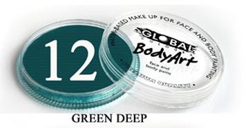 צבע ירוק עמוק 32 גר מספר 12