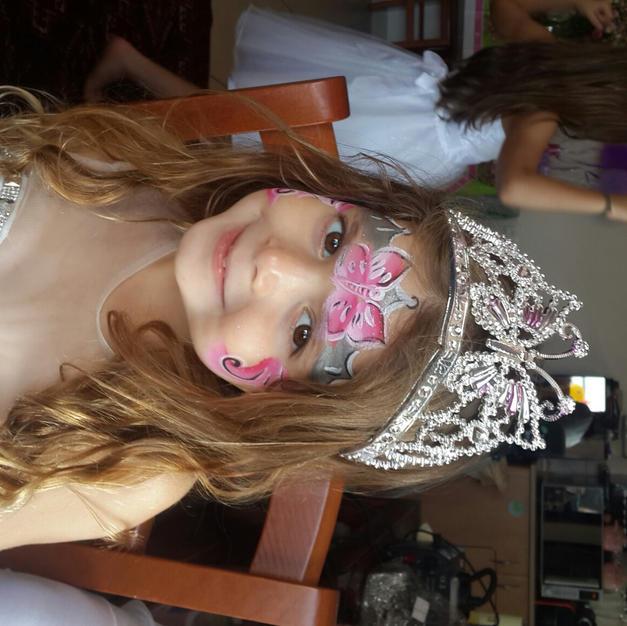 ציור פנים – נסיכה