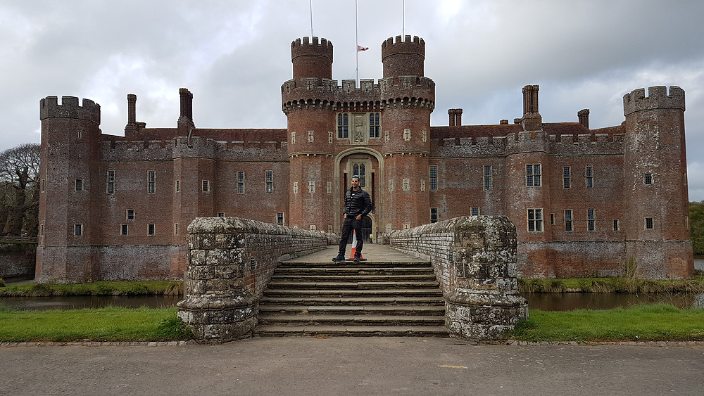 East Sussex, England, Herstmonceux Castle