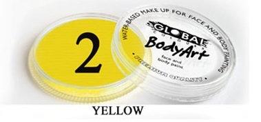 צבע צהוב 32 גר מספר 2