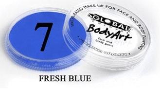 צבע כחול בהיר 32 גר מספר 7