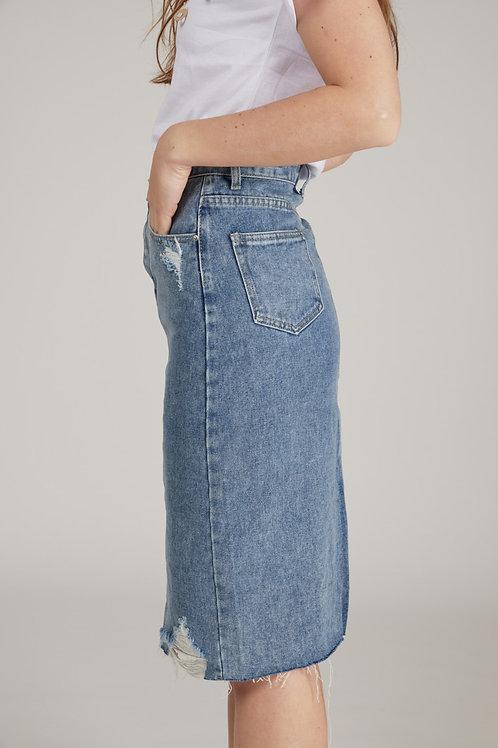 Nella חצאית גינס