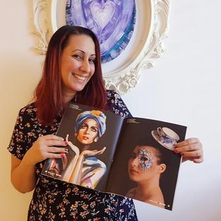 פרסום עבודות של מיכל הניג במגזין אמריקאי.jpg