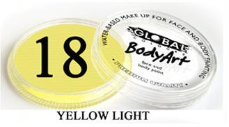 צבע צהוב עדין 32 גר מספר 18