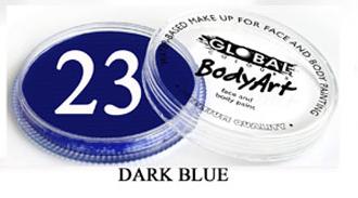 צבע כחול שחור 32 גר מספר 23