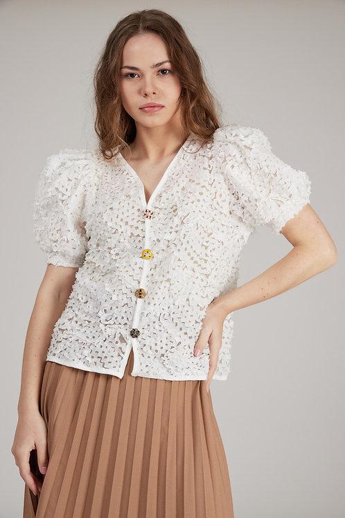 חולצת -Elody לבן