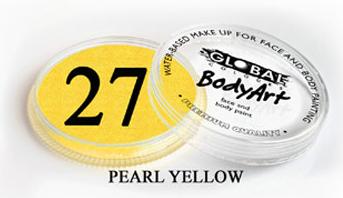 צבע צהוב פנינה 32 גר מספר 27