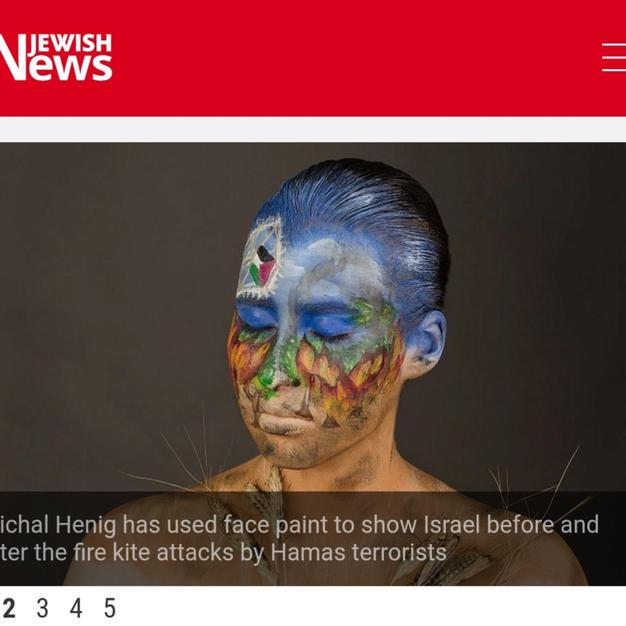 כתבה על השריפות בדרום בעיתון בריטי.jpg